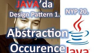 Java Kodlama- Tasarım Kalıbı 1 - Abstract - Occurence Kalıbı