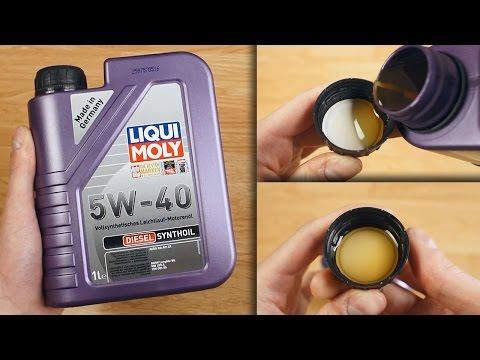 Liqui Moly Diesel Synthoil 5W40 Jak wygląda oryginalny olej?