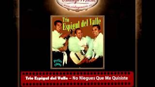 Trio Espigul del Valle – No Niegues Que Me Quisiste (Perlas Cubanas)