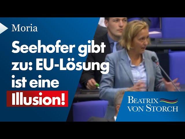 Seehofer muss zugeben: EU-Lösung ist eine Illusion - 16.09.2020
