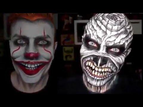 Halloween 3 ideas de maquillaje para hombres!
