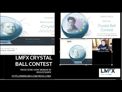 LMFX Crystal Ball Contest Monday March 18th 2019 - 동영상