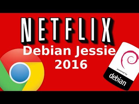 How to watch Netflix in Debian Jessie 8