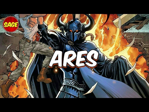 "Who is DC Comics Ares? Brutal ""God of War"" and brother of Wonder Woman."