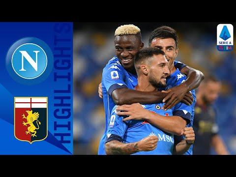 Napoli 6-0 Genoa | Doppietta per Lozano, segnano anche Mertens e Zieliński! | Serie A TIM