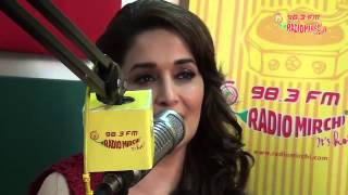Madhuri Dixit and Huma Qureshi in a candid chat about their film Dedh Ishqiya with RJ Jeeturaaj