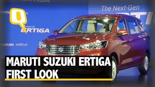 All-New Maruti Suzuki Ertiga 2018 First Look