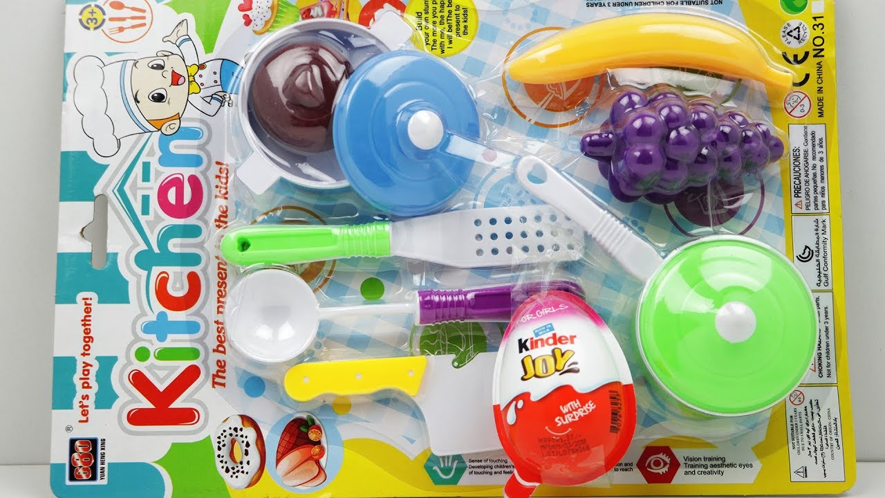 Beautiful Toy Kitchen Set & Kinder Joy | The Best Present To ... on top best kitchens, top movie kitchens, new updated kitchens, apron sinks for kitchens, top country kitchens, top dream kitchens,