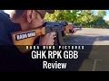GHK RPK GBB Machine Gun!