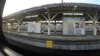 東海道線ホームライナー浜松3号沼津発車後車内アナウンス