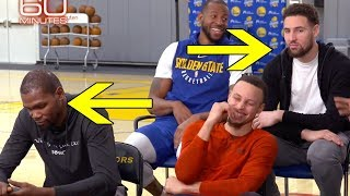 Kevin Durant & Klay Thompson's Reaction To '60 Minutes' Question PROVES They Are LEAVING Warriors!