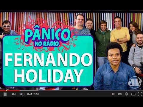 Fernando Holiday - Pânico - 14/06/16