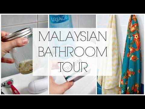 Minimalist Bathroom Tour: Malaysia (Post KonMari)