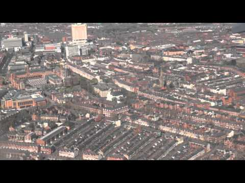Flight into Belfast (George Best Belfast City Airport)