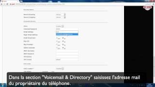 Messages vocaux dans email avec Elastix