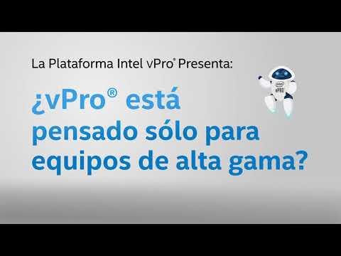 ¿En qué equipos funciona Intel Vpro®?