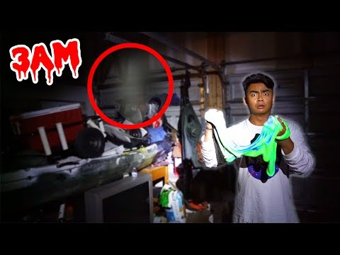 Thumbnail: DO NOT MAKE FLUFFY SLIME AT 3AM! (GHOST)