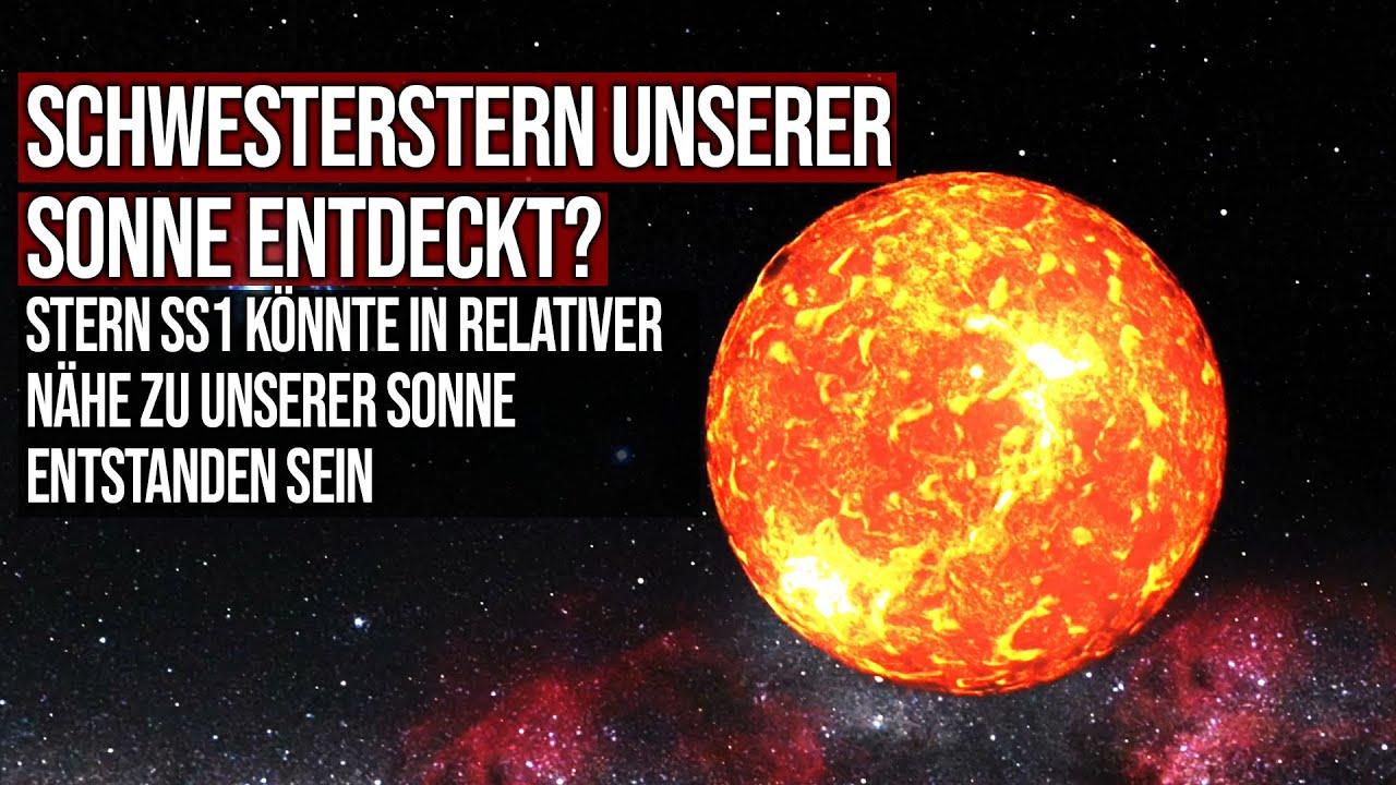 Schwesterstern unserer Sonne entdeckt? - SS1 könnte mit unserer Sonne entstanden sein