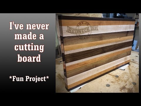 🛠 Making A Cutting Board For The First Time
