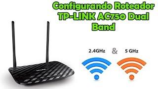 Configurando TP-Link Roteador Gigabit Wireless Dual Band AC750 Archer C2
