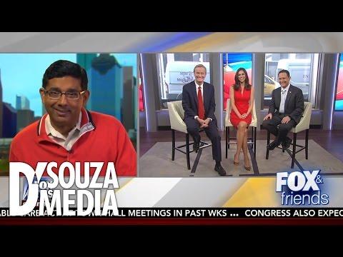"Fox & Friends: Dinesh D'Souza Responds To ""Worst Actor of 2016"" Award"