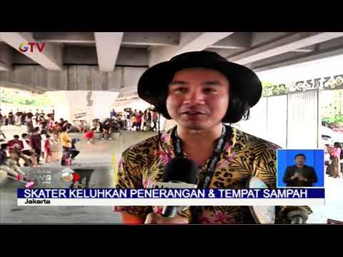 Arena Skatepark Pasar Rebo Ramai Dikunjungi Meski Belum Diresmikan Oleh Pemprov DKI - BIS 19/01