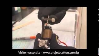 Regulagem da máquina de tatuagem