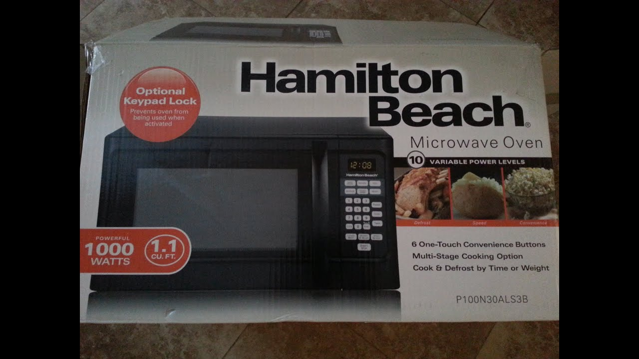 hamilton beach microwave oven unboxing youtube rh youtube com Hamilton Beach 3-In-1 Slow Cooker Hamilton Beach Microwave Oven Manual