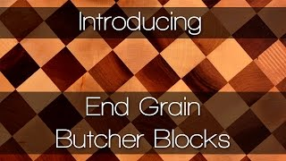End Grain Butcher Block Worktops - Solid Wood Worktops By Worktop Express