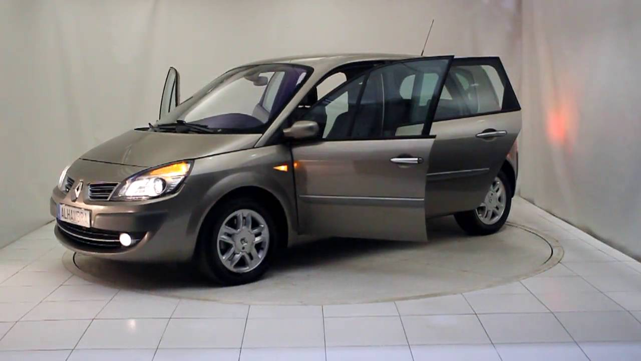 renault scenic exception 1 9dci 5p 2008 autom viles alhambra youtube. Black Bedroom Furniture Sets. Home Design Ideas
