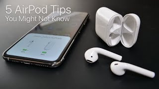 5 AirPod Tips and Features You Might Not Know