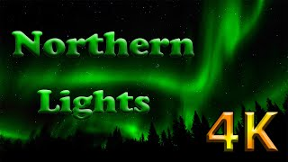 Northern Lights Time Lapse in 4K Ultra HD