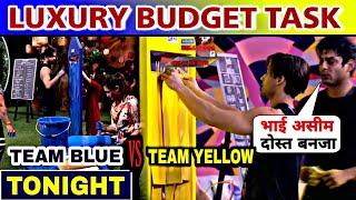 Bigg Boss 13 Today Episode, Luxury Budget Task DAY 47 Team Yellow vs Team blue, Siddharth vs Asim