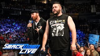 Video Kevin Owens & Sami Zayn crash SmackDown LIVE: SmackDown LIVE, April 3, 2018 download MP3, 3GP, MP4, WEBM, AVI, FLV Juni 2018