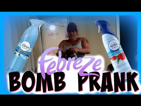 FEBREZE BOMB PRANK ON MY ANGRY MOM!