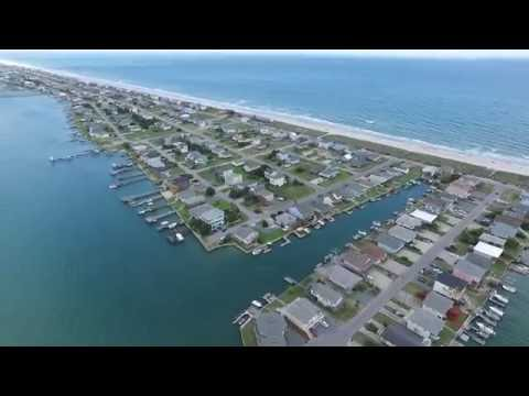 Topsail Beach Flyover with DJI