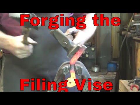 Forging a filing vise - part 1 - blacksmith tools