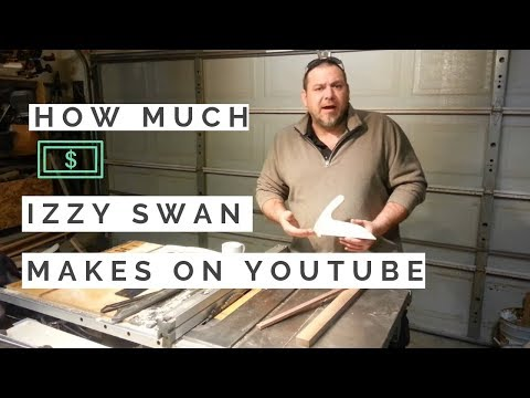 How much money does Izzy Swan make on Youtube