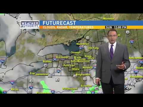 Meteorologist Mike Brookins Saturday Morning Weather Forecast 5-27-2017