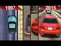 Evolution of GTA Graphics (1997 - 2015) | PC | ULTRA