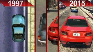 Evolution of GTA Graphics (1997 - 2015) | PC | ULTRA