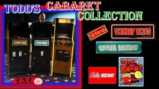 #59 Nintendo SPACE DEMON & DONKEY KONG-BALLY ROBBY ROTO CABARET Arcade Video Games-TNT Amusements