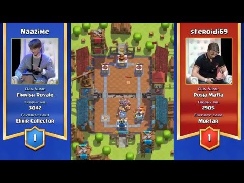 Clash Royale Tournament Helsinki Finland FULL REPLAY $10,000 Prize!