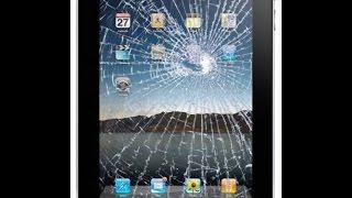 як зробити планшет якщо розбитий екран
