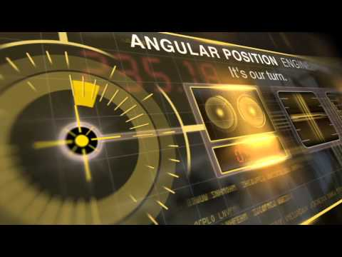 Transmitter for angular position