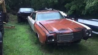 1970 Chevelle SS and 1970 Monte Carlo Found Wasting Away In Maryland