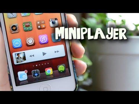 MiniPlayer - Music Mini Player From iTunes 11 Cydia Tweak For iPhone, iPod Touch & iPad