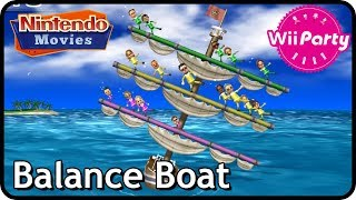 Wii Party - Balance Boat 2 Players (Beginner, Intermediate, Expert)