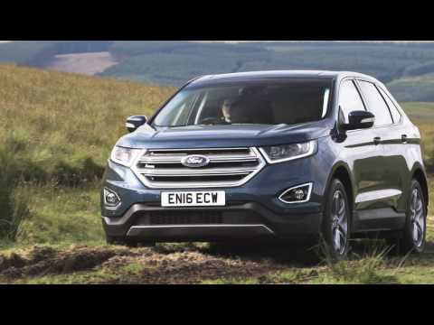 Ford Edge 2017, UK, Driving, Exterior Interior, Official Video