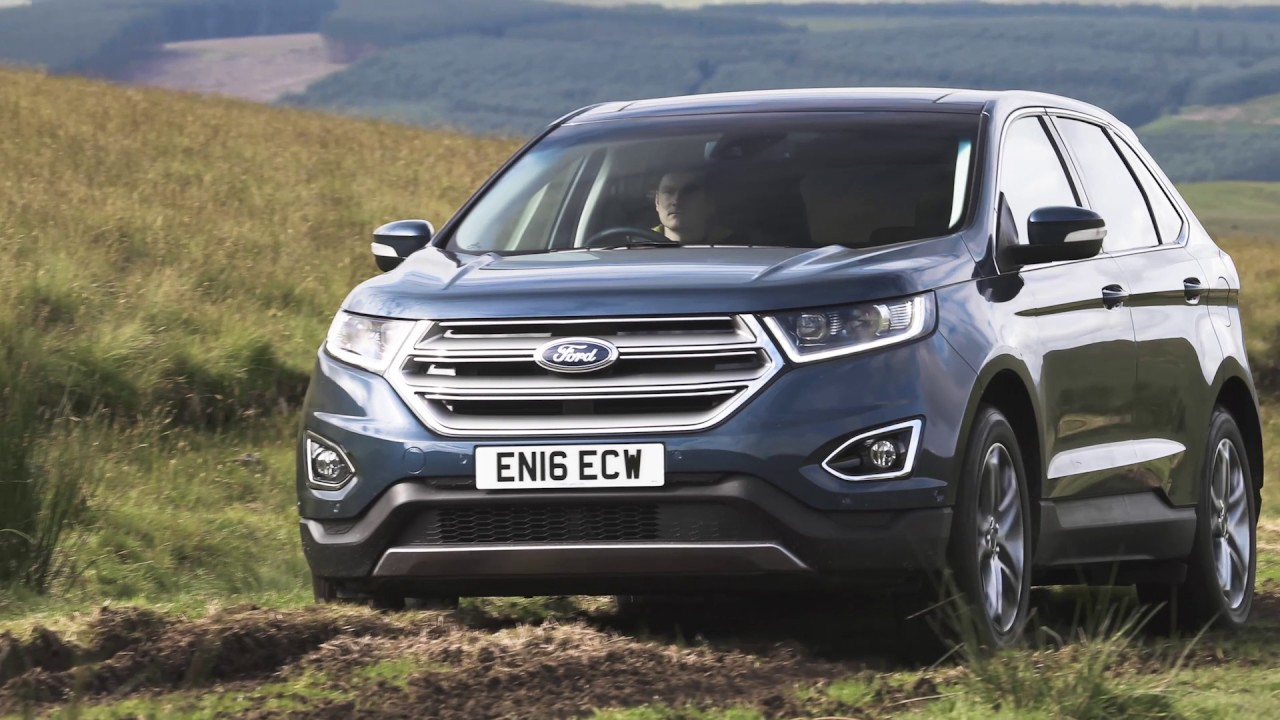 Ford Edge  Uk Driving Exterior Interior Official Video